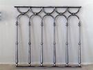 Balkon korkuluk modeli  tasarim Teknik Metal Ferforje kod: TBL-05