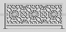 lazer kesim ferforje korkuluk Osmanli modeli kod: TBL-37