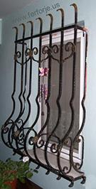 Ferforje Pencere Korkuluk Demiri Teknik Metal Kod: TPD-10