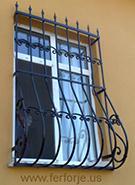 mizrakli ferforje pencere demiri kod: TPD-11