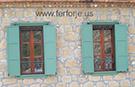 dekoratif amacli ferforje pencere demiri teknik metal kod: TPD-12