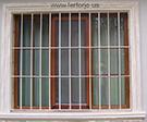 Pencere Korkuluk Demiri Duz Model Kod: TPD-04