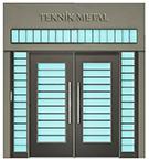 Modern Bir bina kapisi Tasarimi kod: TCZ-12