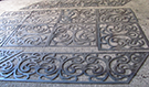 Lazer Kesim balkon demiri_merdiven demiri_ Teknik metal ferforje Atolyesi  kod: TCNC-28