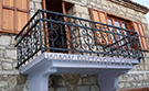 Dovme demir Balkon korkuluk Modelleri ferforje korkuluk kod: TBL-25
