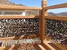 ahsap demir balkon korkuluk modeli kod: TBL-69