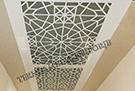 dekoratif tavanlar-lazer kesim kod: TTA-08