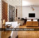 Dekoratif Ferforje Metal Paravan Modelleri kod: TPR-12