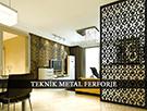 Ic Mekana Uygun Metal Lazer Kesim Paravan kod: TPR-36