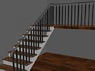 Merdiven Korkuluk demiri cizim resmi kod: TCZ-15