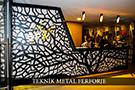 Dekoratif Lazer Kesim Life Style Duvar Kaplama Ağaç Deseni