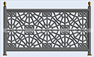 demir balkon korkuluk modeli kod: BL-61
