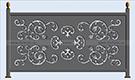 Metal korkuluk modeli kod: TBL-72