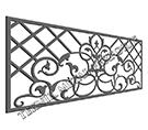 Osmanli modeli balkon korkuluk demiri kod: TBL-76