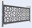 modern balkon korkuluk demiri kod: TBL-77