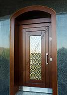 Farklı Çelik Modern Lazer Kesim Desenli Kapı Modeli