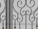 ferforje-lazer kesim kapi motifleri kod: TCZ-34