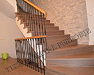 ferforje merdiven korkulugu ahsap kod: TMD-83