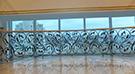 Ferforje merdiven korkuluk demiri-ahsap kupesteli kod: TMD-54