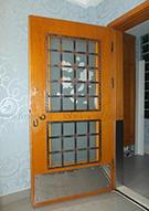 Ferforje Ahşap Daire Kapıları