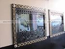 Ferforje Pencere Soveleri Dekoratif Pencere Demirleri Kod: TPD-20