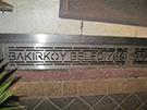 Paslanmaz izgara Su gideri Bakirkoy belediyesi girisi kod: TPS-16