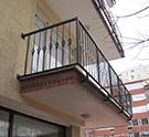 ferforje balkon Modeli kod: TBL-33