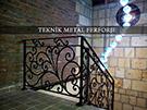 ferforje merdiven korkuluklari kod: TMD-37