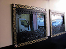dekoratif pencere soveleri_ferforje dekorasyon Teknik Metal Ferforje kod: TCNC-26
