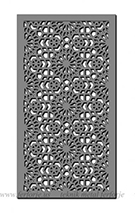 selcuklu modeli-lazer kesim kapi motifler Teknik Metal Ferforje kod: TKM-45