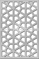lazer kesim metal enyeni desenler Teknik Metal Ferforje kod: TKM-27