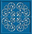 lazer kesim bahce kapi motifleri teknik metal ferforje kod: TKM-23