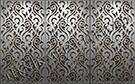 lazer kesim dekoratif motifli paravan seperator ara bolme ayirici teknik metal kod: TPR-97