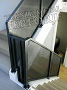 lazer kesim modern merdiven kod: TMD-92