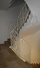 lazer kesim modern merdiven korkulugu kod: TMD-72