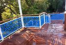 lazer kesim agac desenli balkon korkuluk demiri kod: TBL-58