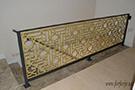 Selcuklu modeli merdiven galeri korkuluk demiri kod: TMD-63