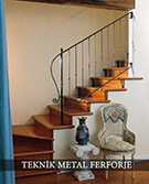 ferforje merdiven korkuluklari Teknik metal ferforje kod: TMD-35