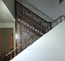lazer kesim-selcuklu merdiven korkuluk demiri kod: TMD-51