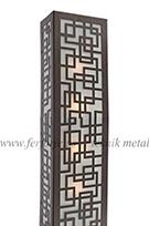 dekoratif metal aplik kod: TTA-06
