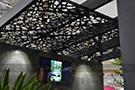 dekoratif metal tavan panosu kod: CNC-36
