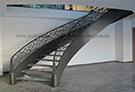 Modern lazer kesim merdiven korkuluk demiri kod: TCK-15