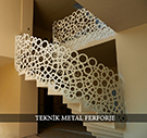 modern ferforje merdiven korkuluklari lazer kesim kod: TMD-40