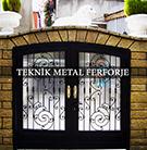 Ferforje Yali Kapisi Teknik Metal kod: TBC-16