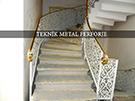 Lazer kesim motifli pirinc kupesteli merdiven korkulugu kod: TMD-23