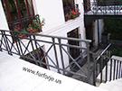 Ferforje dovme demir balkon korkuluk Modeli kod: TBL-13