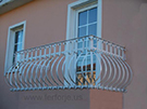 Ferforje cumbali balkon korkuluk Modeli kod: TBL-14