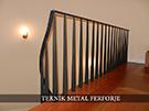 Ferforje merdiven modelleri ozel tasarim villa  merdiven Korkulugu kod: TMD-04