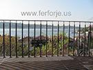 Balkon korkuluk modelleri ferforje korkuluk kod: TBL-26