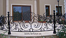 Ferforje dovme demir Torna Babali balkon korkuluk Modeli kod: TBL-15